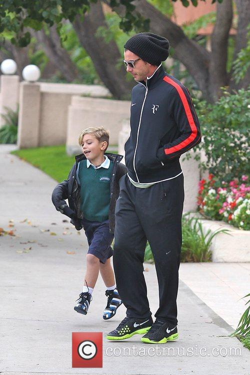 Gavin Rossdale and Kingston Rossdale 7