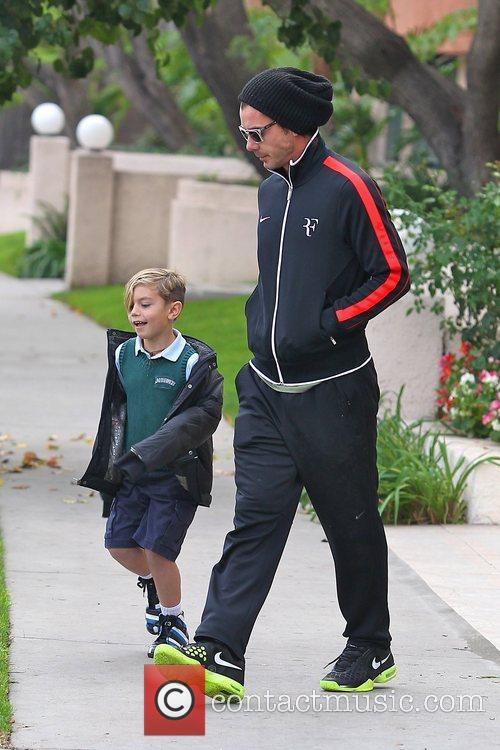 Gavin Rossdale and Kingston Rossdale 6