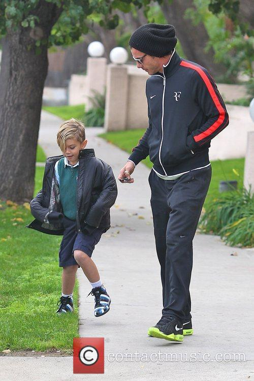 Gavin Rossdale and Kingston Rossdale 4