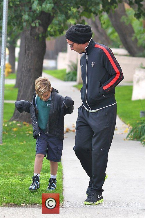 Gavin Rossdale and Kingston Rossdale 8
