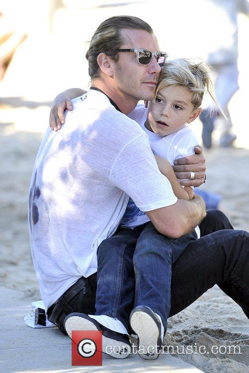 Gavin Rossdale and Kingston Rossdale 5