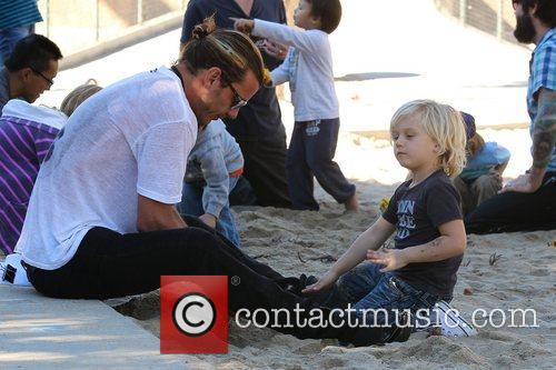 gavin rossdale and zuma rossdale at a 5956750