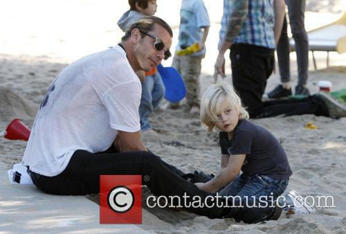 Gavin Rossdale, Santa Monica and California 9