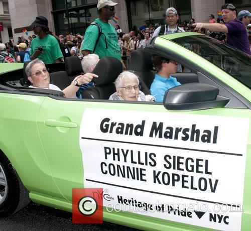 Connie Kopelov Heritage of Pride 2012 NYC March...