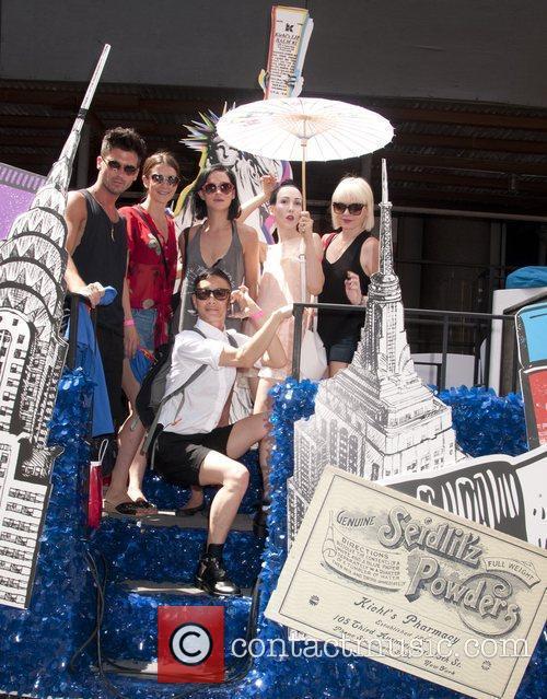 Kiehl's Float-Michelle Harper (Umbrella) Heritage of Pride 2012...