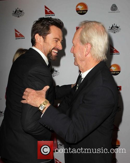 Paul Hogan and Hugh Jackman 2