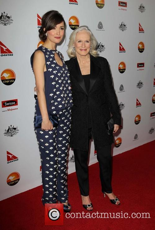 Rose Byrne, Glenn Close