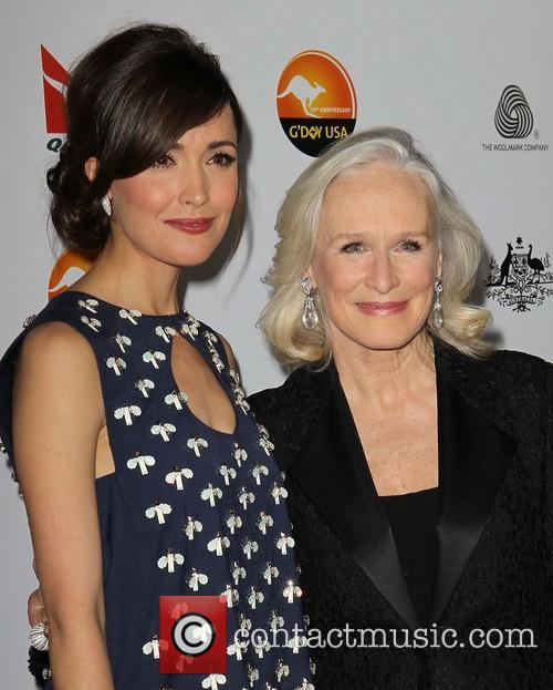 Rose Byrne and Glenn Close 11