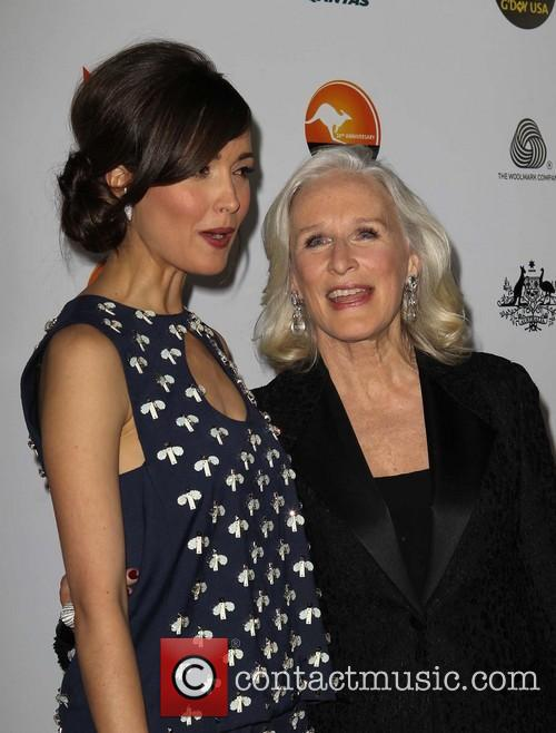 Rose Byrne and Glenn Close 10