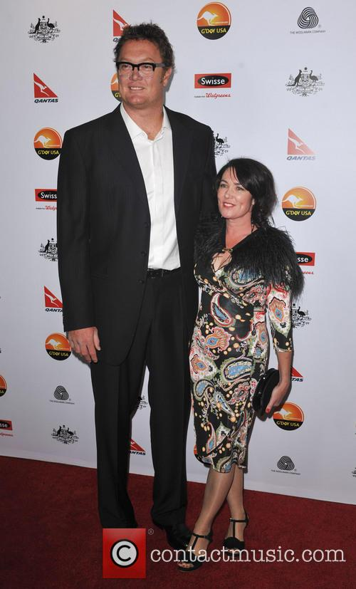 Luc Longley and Anna Gare 4