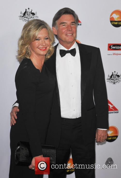 Olivia Newton John and John Easterling