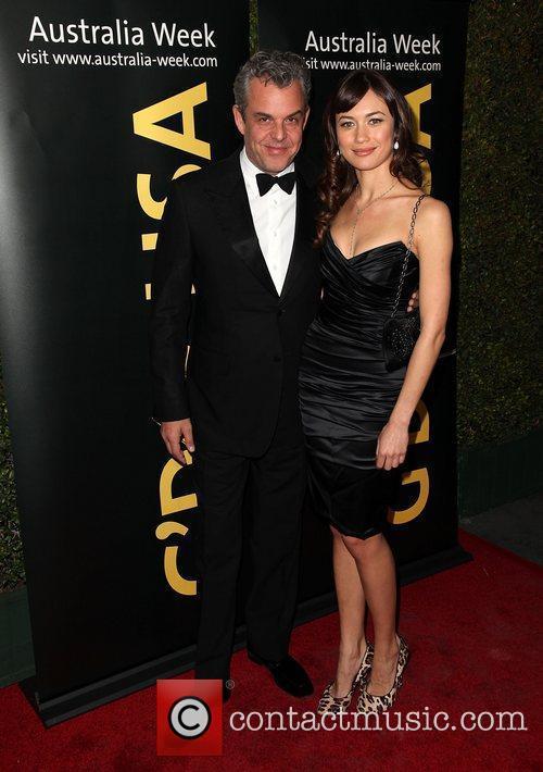 Danny Huston (L) and Olga Kurylenko 9th Annual...
