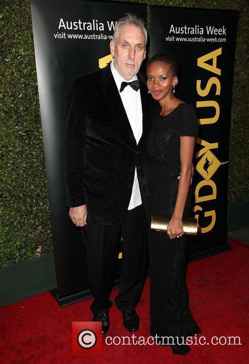 Director Phillip Noyce and wife Vuyo Dyasi 9th...