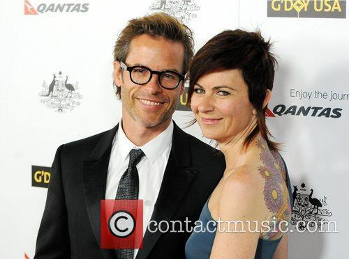 Guy Pearce and Kate Mestitz  9th Annual...