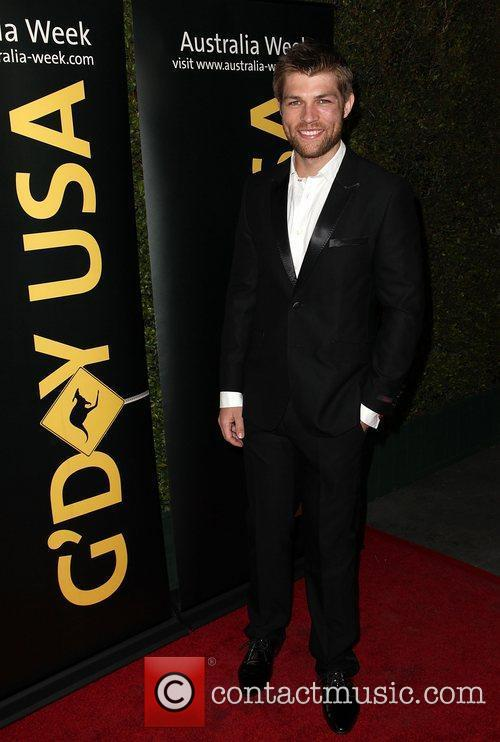 Liam McIntyre 9th Annual G'Day USA Gala held...