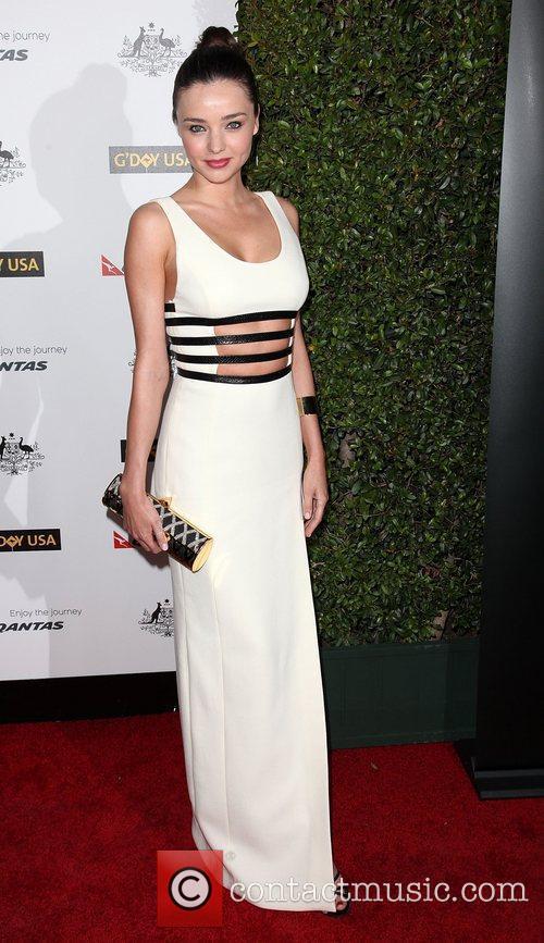 Miranda Kerr 9th Annual G'Day USA Gala held...