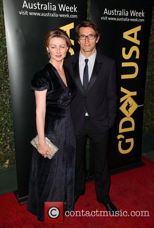 Ursula Brooks and Jonathan LaPaglia 9th Annual G'Day...
