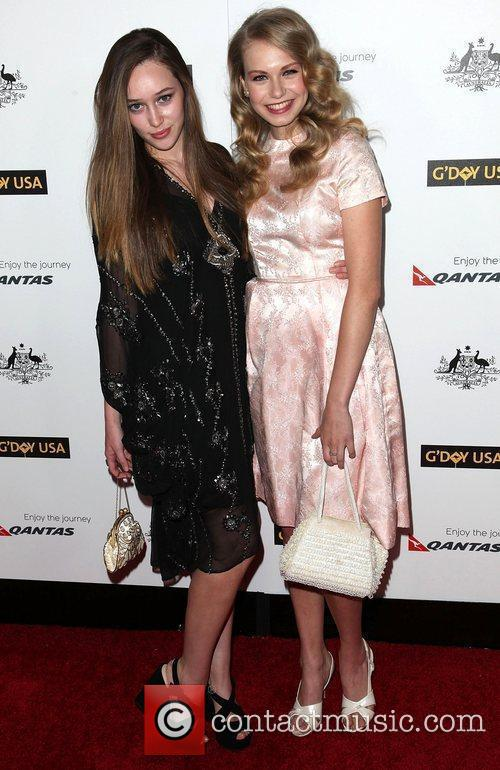 Alycia Debnam-Carey and Penelope Mitchell 9th Annual G'Day...