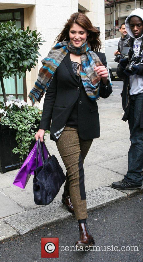 gemma arterton leaving her hotel london england 4168413