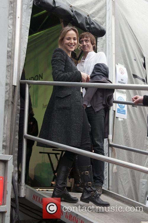 Gemma Hayes and Trafalgar Square