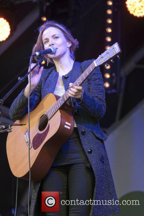 Gemma Hayes and Trafalgar Square 8