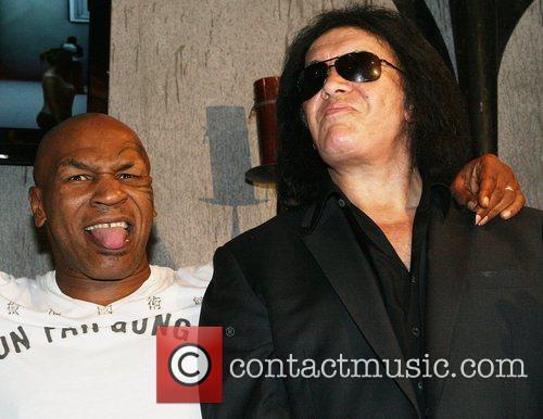 Mike Tyson, Gene Simmons, Las Vegas