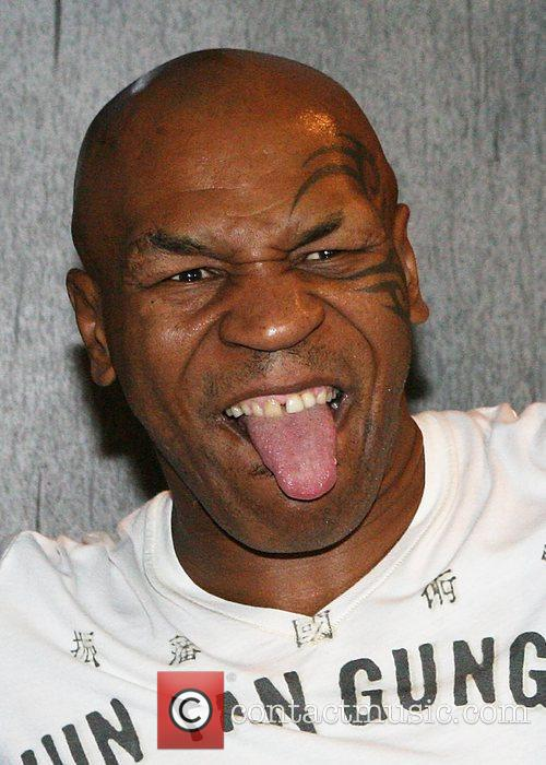 mike tyson attends an event at kiss 3943334