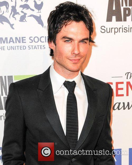 Ian Somerhalder and Beverly Hilton Hotel 1
