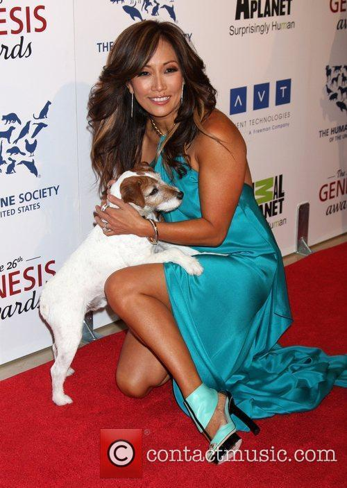 Carrie Ann Inaba and Beverly Hilton Hotel 6