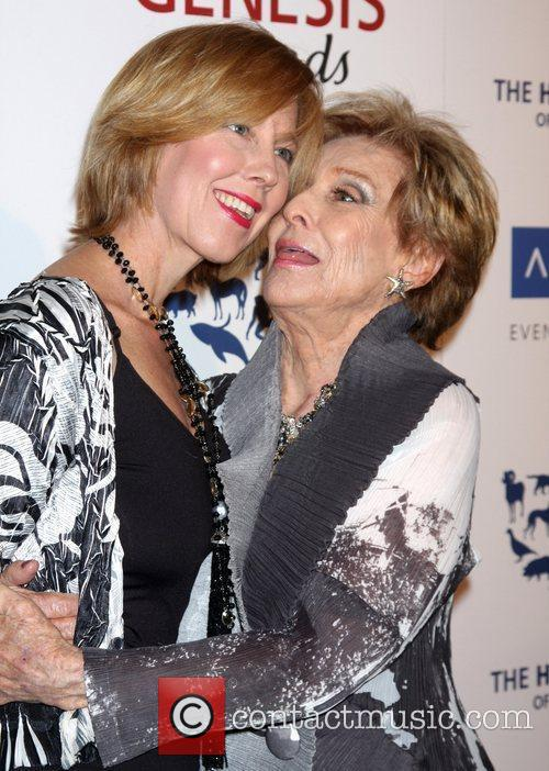 Cloris Leachman and her daughter The Human Society...
