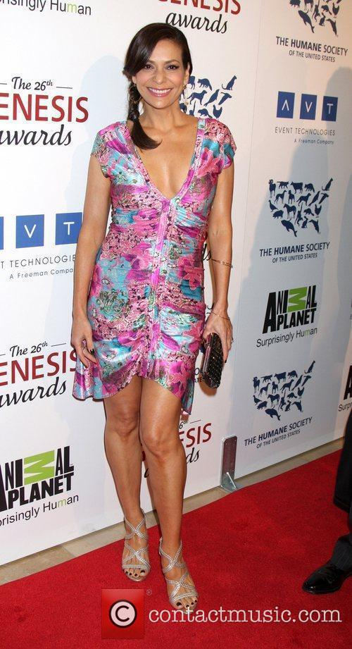 Constance Marie and Beverly Hilton Hotel 1
