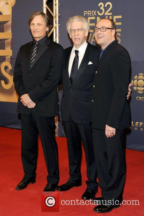 Viggo Mortensen, David Cronenberg and Martin Katz 2