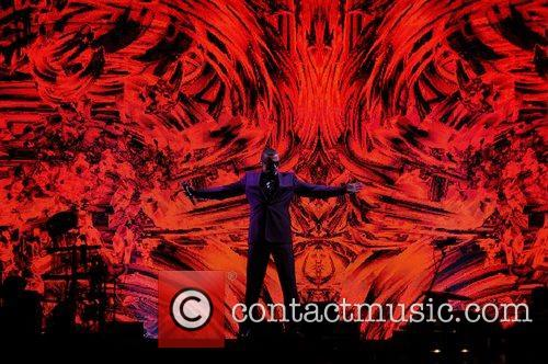 George Michael performing his Symphonica Tour at The...