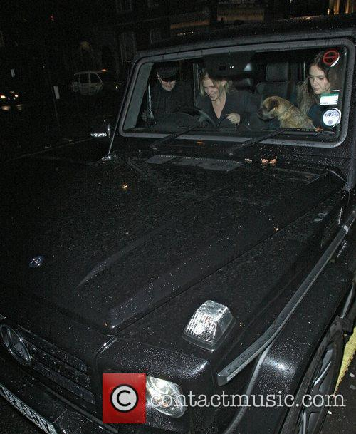 Lara Stone, Bert, Georges and Mayfair 4