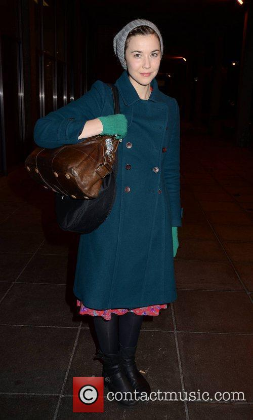 Lisa Hannigan  outside the RTE studios for...