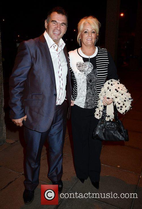 Paddy Doherty, wife Roseanne Doherty  outside the...