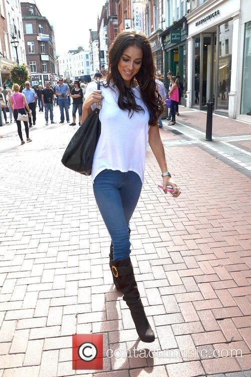 Model Georgia Salpa is seen walking down Grafton...