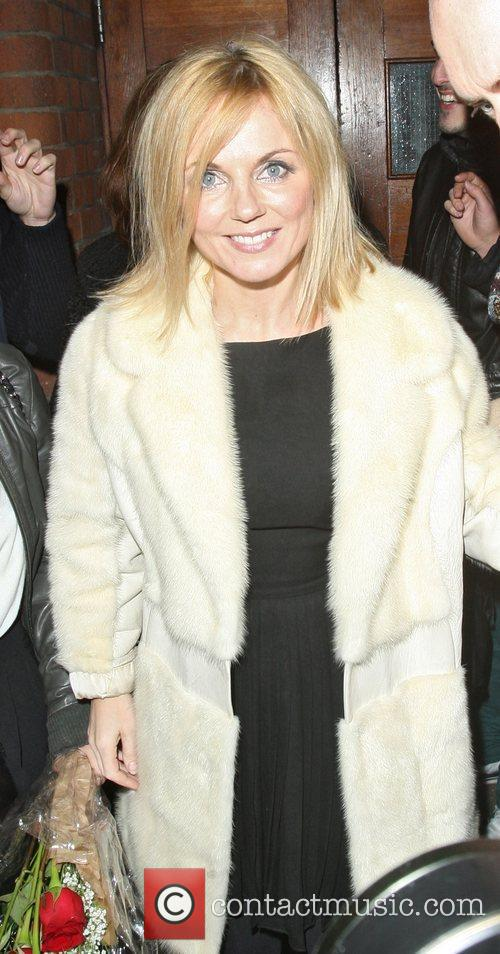 geri halliwell leaving the palace theatre after 4145458
