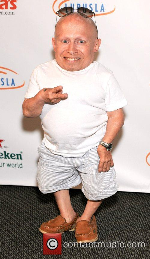 Verne Troyer and Austin Powers 1