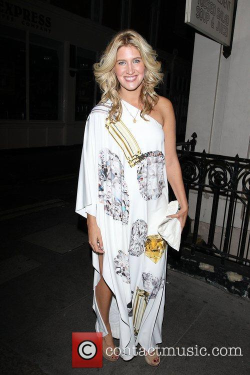 Francesca Hull at the ghd air Boutique launch....
