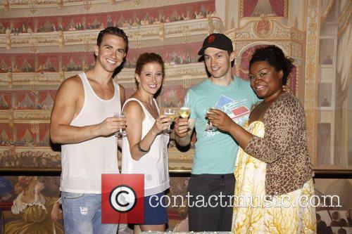 'Ghost The Musical' celebrates 100 Broadway performances at...