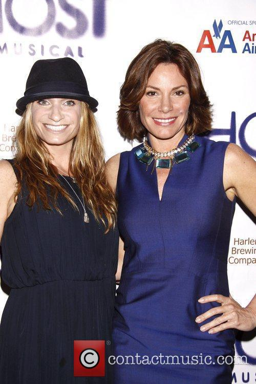 Heather Thomson and LuAnn de Lesseps Broadway opening...