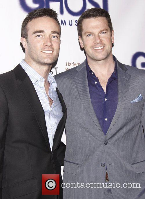 Patrick Abner and Thomas Roberts Broadway opening night...
