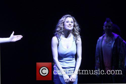Caissie Levy Broadway opening night of 'Ghost The...