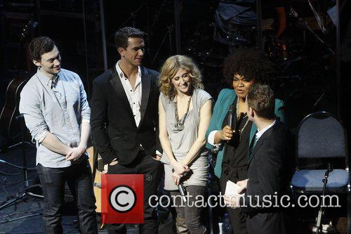 Bryce Pinkham, Richard Fleeshman, Caissie Levy and Da'vine...