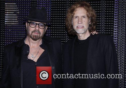 Dave Stewart and Glen Ballard  Photo call...