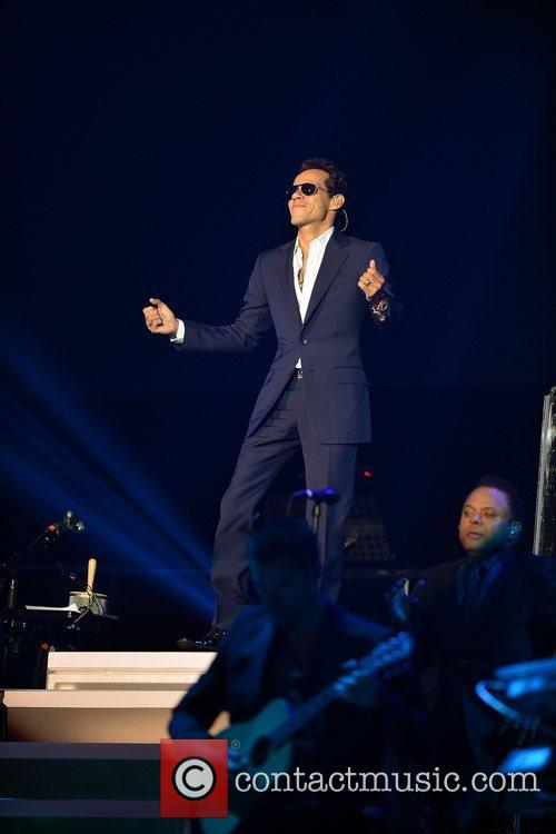 Marc Anthony performs Gigant3s Gira 2012 concert tour...