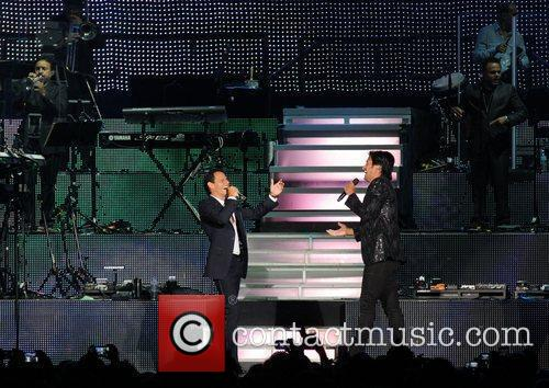 Marc Anthony and Chayanne 2