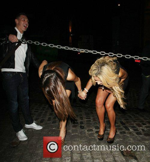 Natasha Giggs and Nicola Mclean 2