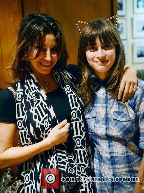 Gina Gershon poses with her niece Gina Gershon...